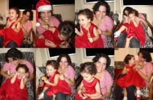 Sequência de cosquinhas na alma da festa de Natal