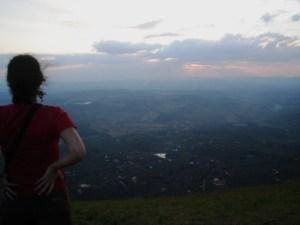 Vista da Serra da Moeda.