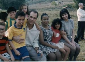 Junim (Samuel Brandão), Tonico (Levindo Júnior), pai do Maluquinho (Roberto Bomtempo), Irene (Edyr de Castro), Julieta e mãe do Maluquinho (Patrícia Pilar). Foto: arquivo pessoal.