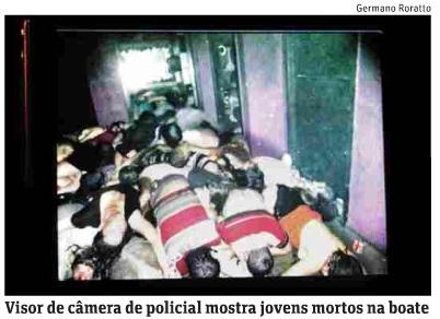 """Foto na edição de hoje da """"Folha""""."""