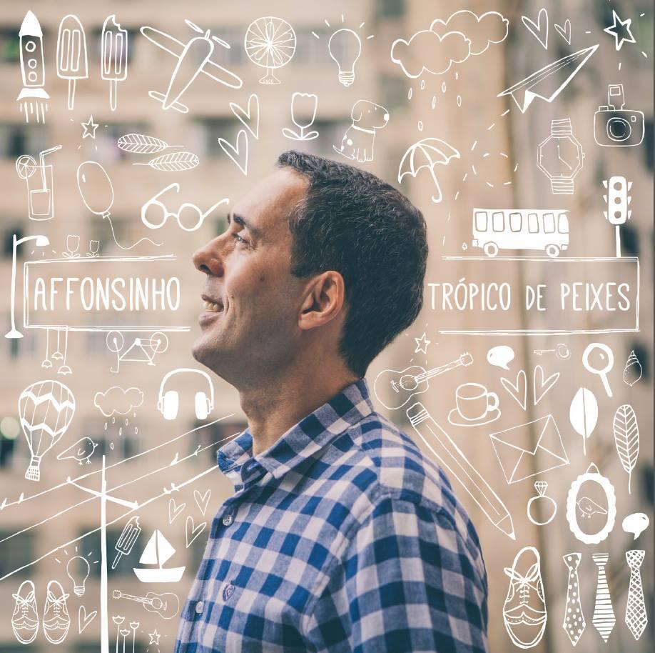 Capa do oitavo CD do Affonsinho.