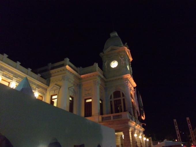 Praça da Estação, palco de uma noite maravilhosa! (Fotos: CMC)