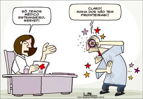 """Charge do Lute para o jornal """"Hoje em Dia"""" de  25.8.2013."""
