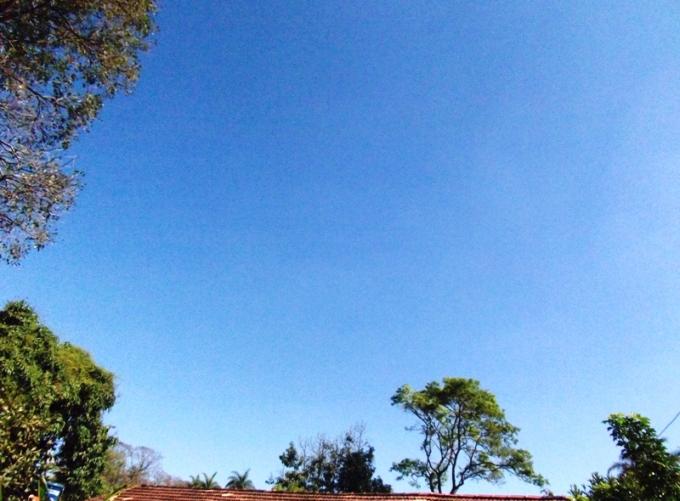O céu que vejo com mais frequência há um ano :) (Foto: CMC)