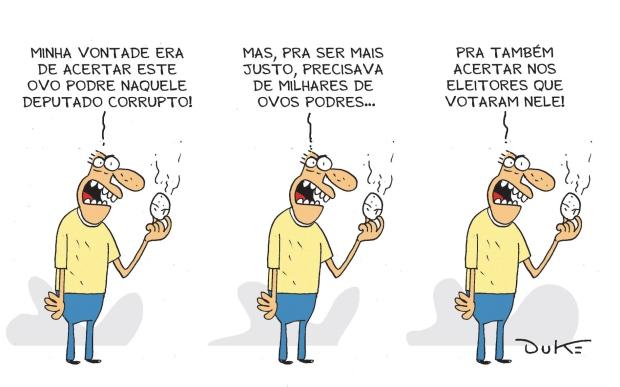 """Charge publicada em """"O Tempo"""" de 29.11.2013"""