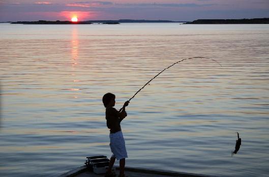 Nunca pesquei...