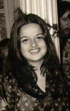 Ana Rita na época de estudante / Arquivo pessoal