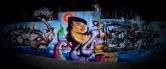 Grafite de Davi de Melo Santos, Hyper e André Dalata, no Viaduto de Santa Tereza. Do Flickr de Davi, enviado por ele ao blog: http://www.flickr.com/photos/demelosantos