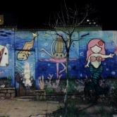 Grafite da Krol (que é uma das Minas de Minas) na rua Palmira, na Serra. Fotografado por Beto Trajano em 5.4.2014.