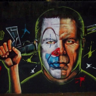 Grafite de Marcelo Gud, na rua do Ouro, na Serra. Fotografado por Beto Trajano em fevereiro de 2014