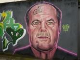Grafite do Gud na rua Sergipe, Funcionários. Foto: CMC, em 4.6.2016