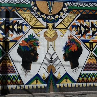 Lindo grafite na rua Timbiras. Foto de CMC no dia 13.9.2016