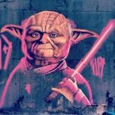 Grafite de Marcelo Gud no Apoio Mineiro, Cristiano Machado, Jardim Guanabara. Fotografado por Guilherme Ávila e publicado originalmente em outubro/2013 em seu Instagram: http://instagram.com/guilherme_avila