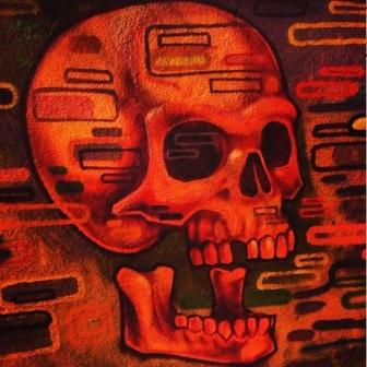 Grafite no Clube Mineiro da Cachaça, na rua Mármore, 373, Santa Tereza. Fotografado por Guilherme Ávila e publicado originalmente em agosto/2013 em seu Instagram: http://instagram.com/guilherme_avila