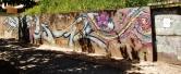 Grafite de Testa e Amigo, na avenida Bandeirantes, Mangabeiras. Fotografado por CMC em 7.4.2014