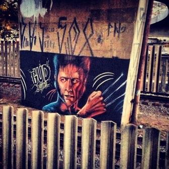 Grafite de Marcelo Gud na estação Santa Tereza. Fotografado por Guilherme Ávila e publicado originalmente em agosto/2013 em seu Instagram: http://instagram.com/guilherme_avila