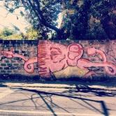 Grafite no Galpão de Minas, na rua Conselheiro Lafaiete, Sagrada Família. Fotografado por Guilherme Ávila e publicado originalmente em agosto/2013 em em seu Instagram: http://instagram.com/guilherme_avila