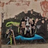 Grafite de Marcelo Gud, na rua Major Barbosa, no Santa Efigênia. Fotografado por CMC em 13.4.2014.