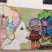 Grafites na rua Piranga, no Santa Efigênia. Fotografado por CMC em 13.4.2014.