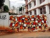 Grafite de Baba Jung na rua Monte Alegre, no Serra. Fotografado por CMC em 13.4.2014.