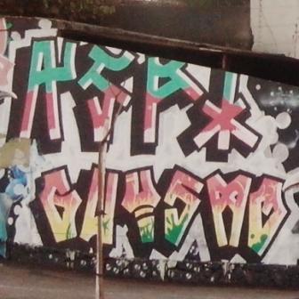 Grafite na av. Amazonas, no Prado. Fotografado por CMC em 29.4.2014