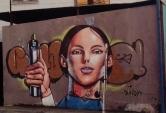Grafite do Marcelo Gud na av. Amazonas, no Prado. Fotografado por CMC em 29.4.2014