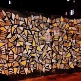 Grafite de Baba Jung no bairro Funcionários. Foto tirada por CMC em 5.5.2014.