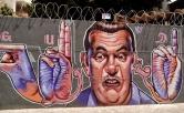 Grafite de Marcelo Gud na av. Cristóvão Colombo com rua Tomé de Souza, fotografado por CMC em 28.9.2014