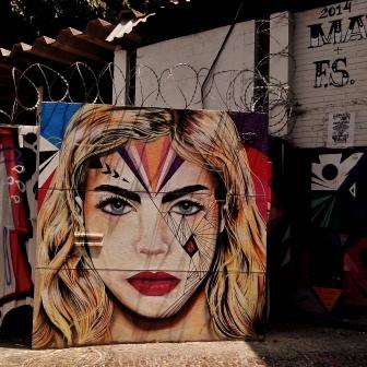 Grafite na av. Cristóvão Colombo com rua Tomé de Souza, fotografado por CMC em 28.9.2014