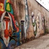 Grafites dentro da Associação Casa do Estudante, na rua Ouro Preto, 1421, Santo Agostinho, Centro-Sul de BH. Foto tirada por CMC em 8.11.2014