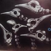 Grafite na av. Afonso Pena, 2.960. Foto tirada por CMC em 20.11.2014