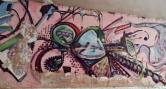Grafite na rua Tomé de Souza, no muro da Escola Estadual Barão do Rio Branco, na Savassi. Fotografado por CMC em 4.1.2015