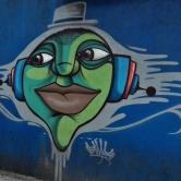 Grafite na av. Cristóvão Colombo, perto do café Status, na Savassi. Fotografado por CMC em 4.1.2015