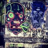 Grafite de PA e KILLA (Calle Crew), no Minascentro. Fotografado por Guilherme Ávila e publicado originalmente em outubro/2013 em seu Instagram: http://instagram.com/guilherme_avila