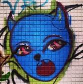 Grafite na rua Aarão Reis, Floresta. Fotografado por Guilherme Ávila e publicado originalmente em outubro/2013 em seu Instagram: http://instagram.com/guilherme_avila