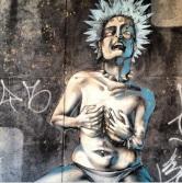 Grafite na rua Sapucaí, Floresta. Fotografado por Guilherme Ávila e publicado originalmente em agosto/2013 em seu Instagram: http://instagram.com/guilherme_avila