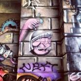 Grafite na Serraria Souza Pinto. Fotografado por Guilherme Ávila e publicado originalmenteem agosto/2013 em seu Instagram: http://instagram.com/guilherme_avila