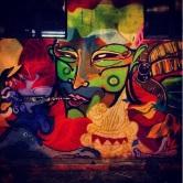 Grafite no Studio Bar, rua Guajajaras, 842. Fotografado por Guilherme Ávila e publicado originalmente em março/2014 em seu Instagram: http://instagram.com/guilherme_avila