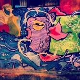 Grafite no Studio Bar, rua Guajajaras, 842. Fotografado por Guilherme Ávila e publicado originalmente em seu Instagram: http://instagram.com/guilherme_avila