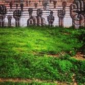Grafite nas Torres Gêmeas, em Santa Tereza. Fotografado por Guilherme Ávila e publicado originalmente em dezembro/2013 em seu Instagram: http://instagram.com/guilherme_avila