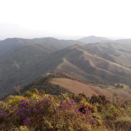 Vista do Pico Agudo - foto: CMC