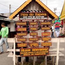 Cidades visíveis do Itapeva, quando não há nuvens