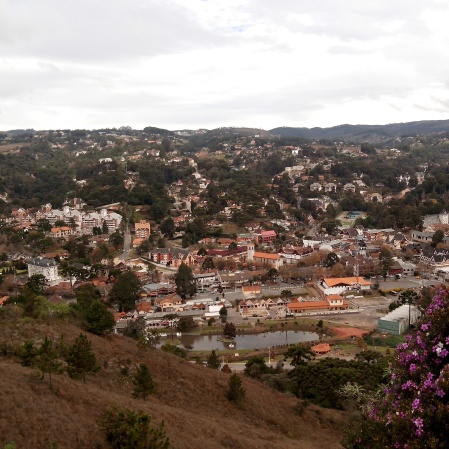 Vista da cidade pelo Pico do Elefante