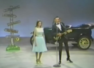 "Johnny Cash e June cantando ""Jackson"" no Ralph Emery Show, em 1967"