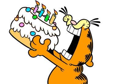 Garfield-Aniversario