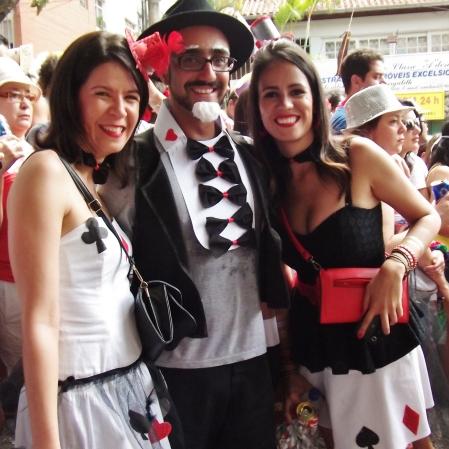 Trio de mágicos! Foto: CMC