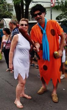 Os Flintstones! Foto: CMC