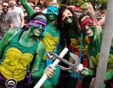 As quatro Tartarugas Ninja! Foto: CMC