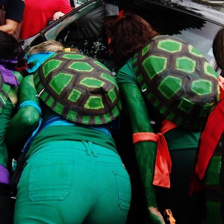 Detalhe que usavam até os cascos :D Foto: CMC