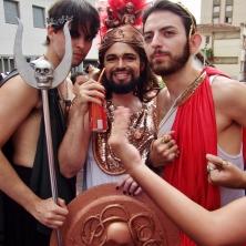 Os imperadores! Foto: CMC
